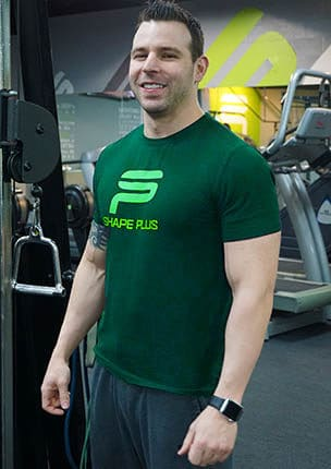 Ryan is a personal trainer and partner at Shape Plus