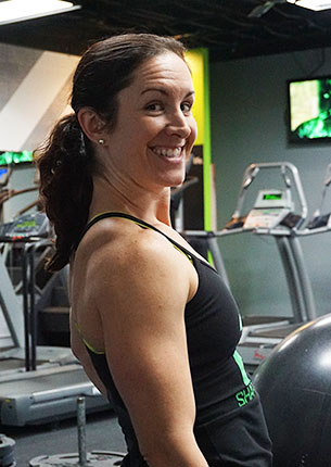 Personal Trainer and Partner Shawna at Shape Plus