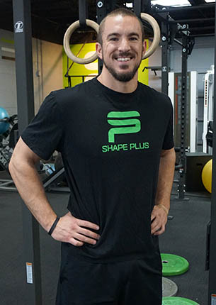Parker is a denver personal trainer and partner at Shape Plus