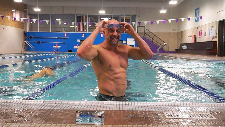 incinerate fat with this HIIT Swim Workout